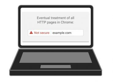messaggio google chrome